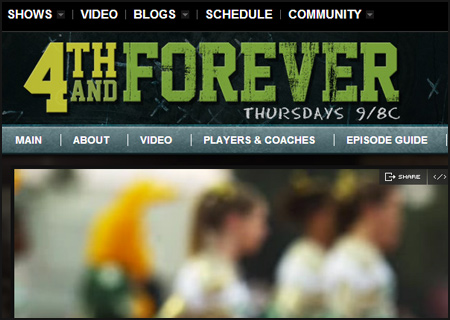 4th and Forever Website