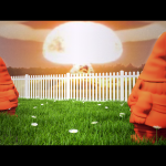 VRay Gnomes Watch Nuclear Explosion