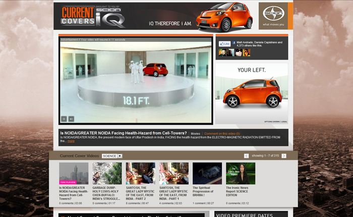 Scion Current Covers brought to you be The New Scion IQ