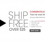 Free Shipping Prize!